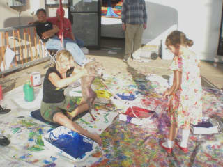 """Bayou City Outdoors presents """"Picassos by Paws Painting Party & Fundraiser"""""""
