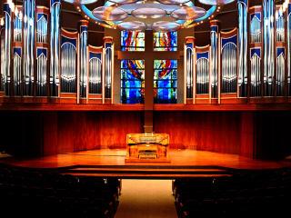 Belin Chapel, Morris Cultural Arts Center, Houston Baptist University