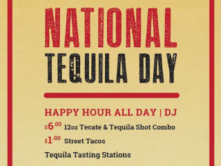 National Tequila Day at 508 Tequila Bar 2014