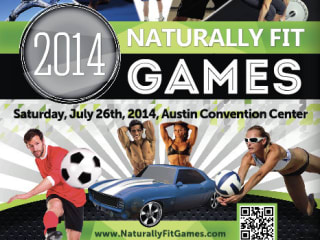 2014 Naturally Fit Games poster