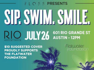 Floss Dental pool party at RIO