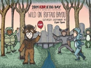 Eighth Annual KBR Kids Day on Buffalo Bayou