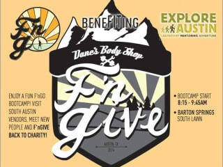 F'nGive workout benefit Dane's Body Shop