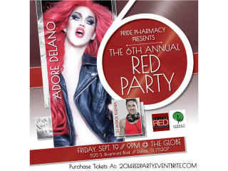 Dallas Red Foundation presents Red Party