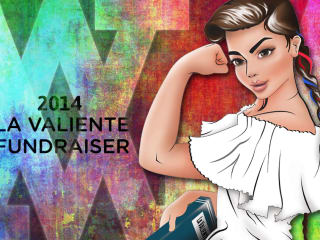 "Voices Breaking Boundaries' 2014 Fundraiser ""La Valiente 2014: Writers Who Persevere"""