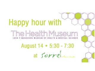 Young Professionals Happy Hour with The Health Museum at Sorrel Bistro