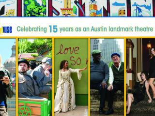 poster Austin Playhouse 15th anniversary gala