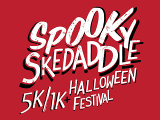 Spooky Skedaddle TSD texas school for the deaf 5K halloween carnival
