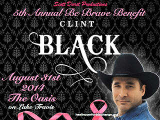 fifth annual Be Brave Benefit with Clint Black 2014