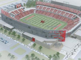 University of Houston new stadium rendering
