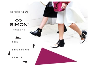 The Shopping Block: A Collaboration Between Refinery 29 and Simon