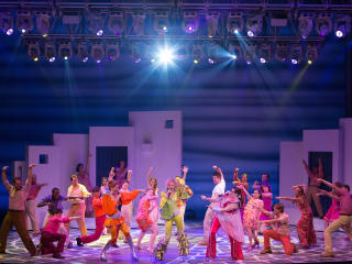 Gexa Energy Broadway at the Hobby Center series January 2014 Mamma Mia! North American Tour cast