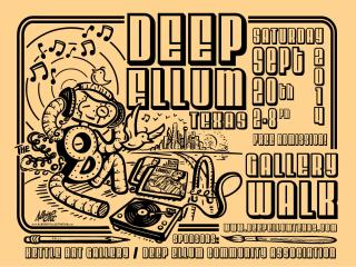 Deep Ellum 2014 Fall Gallery Walk