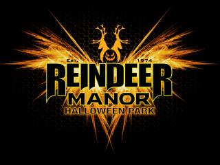 Reindeer Manor Halloween Park