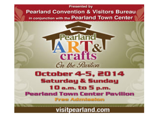 Pearland Art & Crafts on the Pavilion