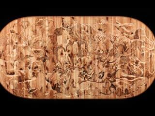 Archway Gallery art opening reception: When Wood Met Design by LeeAnn Gorman and Paula Haymond