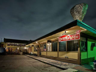 Double Wide dive bar in Dallas