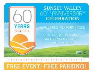 Sunset Valley 60th anniversary