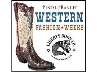 Pinto Ranch presents Liberty Boot Co.