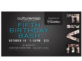 CultureMap Houston's Fifth Birthday Bash