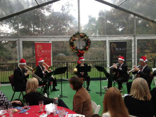 """River Oaks Chamber Orchestra ROCO Brass Quintet presents """"Yuletide Concert"""""""