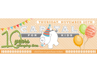 Capital for Kids anniversary party