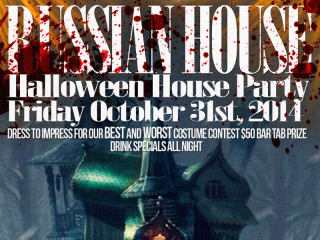 Russian House Halloween Party 2014