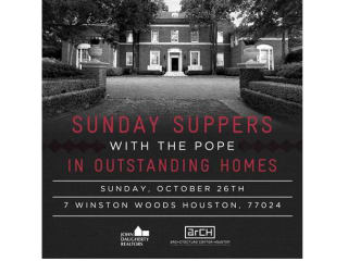 Sunday Suppers with the Pope in Outstanding Homes