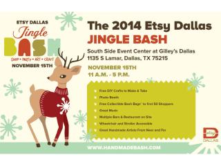 Etsy Dallas Jingle Bash