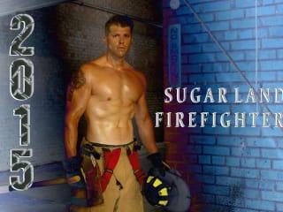 Sugar Land 2015 Firefighter Calendar Signing Event