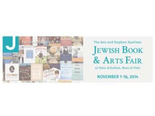 42nd Annual Jewish Book & Arts Fair