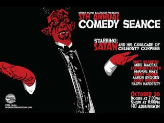 Comedy Seance Satan 2014