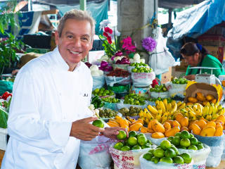 Cookbook signing and holiday dishes discussion with Adán Medrano