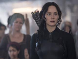 Jennifer Lawrence in The Hunger Games: Mockingay - Part 1