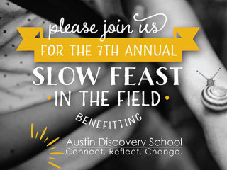 7th Annual Slow Feast in the Field 2014