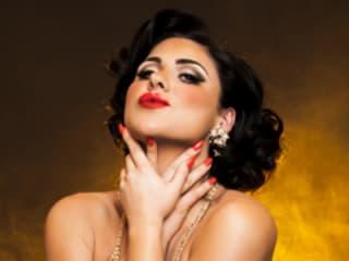 Roxi D'lite Hollywood Nocturne Burlesque 2014