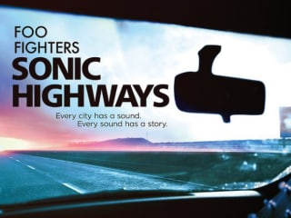 Sonic Highways HBO show poster - Foo Fighters