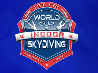 FAI World Cup of Indoor Skydiving Logo 2014