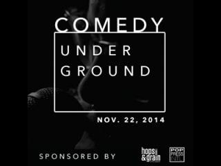 The New Movement Theatre - Comedy Underground November 2014