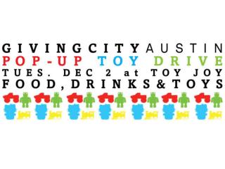 GivingCity Austin Pop-up Toy Drive 2014