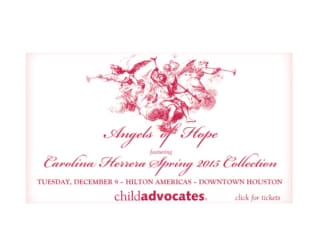 Friends of Child Advocates' 2014 Angels of Hope Luncheon and Fashion Presentation by Neiman Marcus