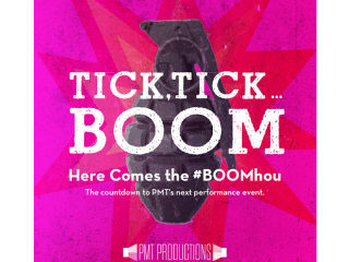 "PMT Productions presents Jonathan Larson's ""Tick, Tick...Boom"""