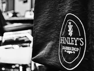 Finley's Barbershop Logo