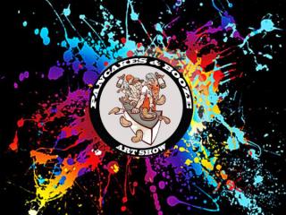 Pancakes & Booze Art Show Logo