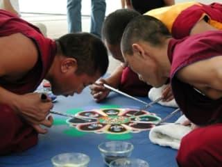 "Menil Collection presents ""A Buddhist Sand Mandala of Compassion"""