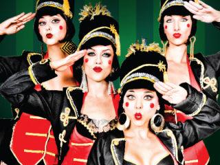 Avant Glam Cabaret - 12 Nights Christmas Cabaret - December 2014