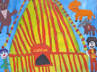 The Circus by Emily - The Greatest Art Show on Earth - Arc of the Capital Area - December 2014