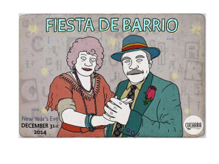 """Fiesta de Barrio"" New Year's Eve at Cuchara"
