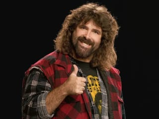 Mick Foley_WWE pro wrestler_Tales from Wrestling Past