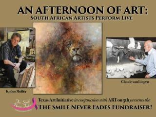 Texas Art Initiative ART Fundraiser_Kobus Moller_Claude van Lingen_January 2015